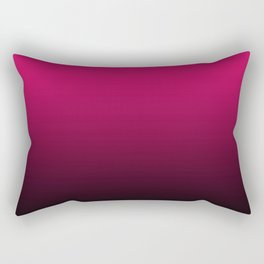 Ombre . Black -crimson Rectangular Pillow