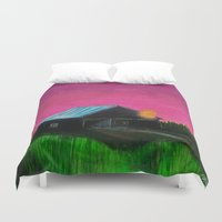 twilight Duvet Covers featuring Twilight  by Ric Soens