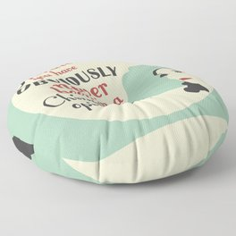 Miss Dorothy Floor Pillow