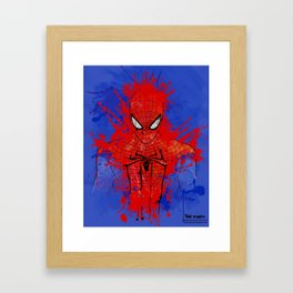 The Amazing Spiderman Framed Art Print