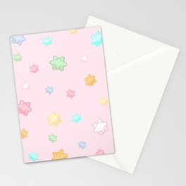 Animal star fragment pattern Stationery Cards