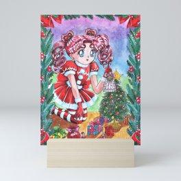 Chibi Chibi Christmas Edition Mini Art Print