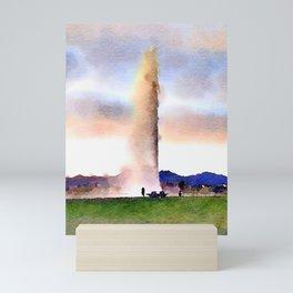 Fountain Park Mini Art Print