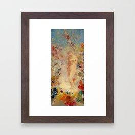 Pandora - Odilon Redon (1914) Framed Art Print