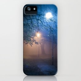 A Spooky Path iPhone Case