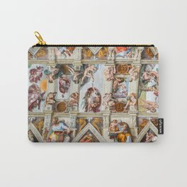 Vatican: Michelangelo's Sistine Chapel / Creation of Adam Carry-All Pouch