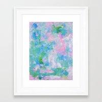 monet Framed Art Prints featuring Monet by Shirleen Wong Studio