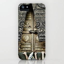 The Ka'aba Door iPhone Case