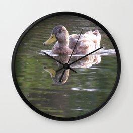 Duck in Beck Kiwanis Park Wall Clock
