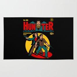 Hunter Comic Rug