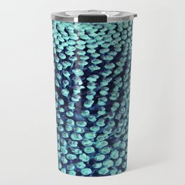 Oxidized Landscape Teal Travel Mug