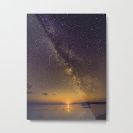 Starlit Sunset in Big Pine Key, Florida Metal Print