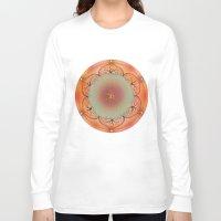 chakra Long Sleeve T-shirts featuring Sacral Chakra by brenda erickson