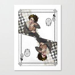 Queen of Brains Canvas Print