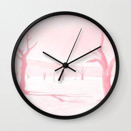 deadvlei desert trees acrpw Wall Clock