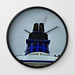 chimenea Wall Clock