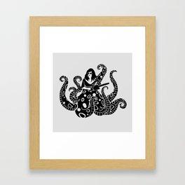 The Kraken.  Framed Art Print