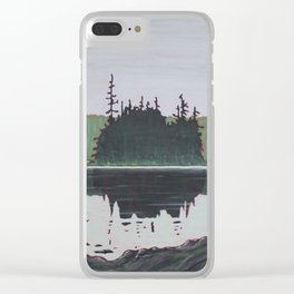 Ouse Lake, Algonquin Park Clear iPhone Case