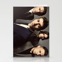 arctic monkeys Stationery Cards featuring Arctic Monkeys by lastminutebinge