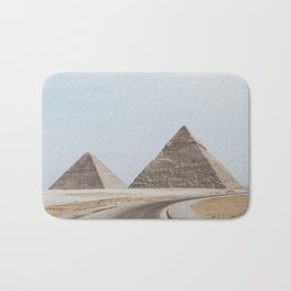 Pyramids of Giza Bath Mat