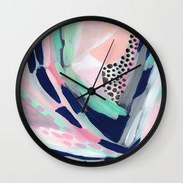Walking My Unicorn Wall Clock