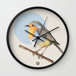 Cute Robin Wall Clock