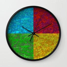 Azalea Pop Art Wall Clock