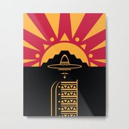 Hijo Del Sol Metal Print