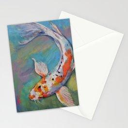 Heisei Nishiki Koi Stationery Cards