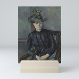 Madame Cézanne with Green Hat Mini Art Print