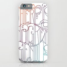 There is no Great Genius Without a Touch of Madness - Seneca Quote Part 1 iPhone 6s Slim Case