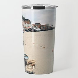 Whitby Row Boats Travel Mug