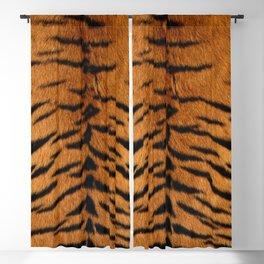 Faux Siberian Tiger Skin Design Blackout Curtain