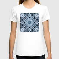 snowflake T-shirts featuring Snowflake by Steve Purnell