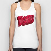 thanksgiving Tank Tops featuring Thanksgiving and Black Friday by Chris Piascik