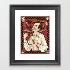 GOB Nouveau Framed Art Print