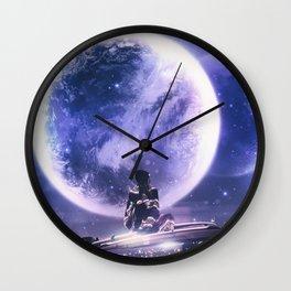 INFINITE WORLD #4 Wall Clock