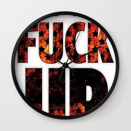 concert tee Wall Clock