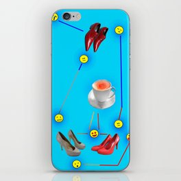 Things Happen to May in May - Shoes Stories iPhone Skin
