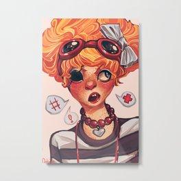 Roxanne Metal Print