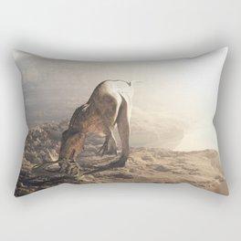 Acrocanthosaurus  Rectangular Pillow