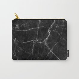 Marble Black Carry-All Pouch