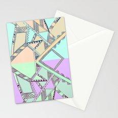 Aztec print illustration Stationery Cards