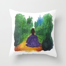 THE ENCHANTED FOREST  Throw Pillow