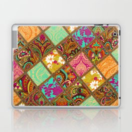 Patchwork Paisley Laptop & iPad Skin
