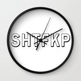 Shtfkp Wall Clock