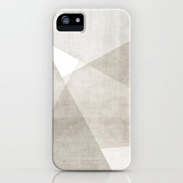 Structure No. 2 | Abstract in Neutral iPhone Case
