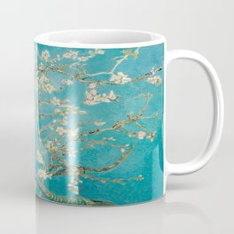 Vincent Van Gogh's Branches of an Almond Tree in Blossom Coffee Mug