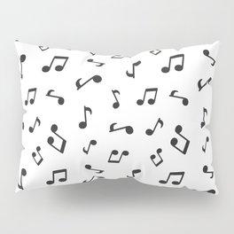 Music Pattern | Note Instrument Musical Listening Pillow Sham