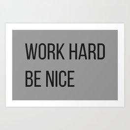 The Motivational Quote II Art Print